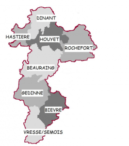 Carte arrondissement