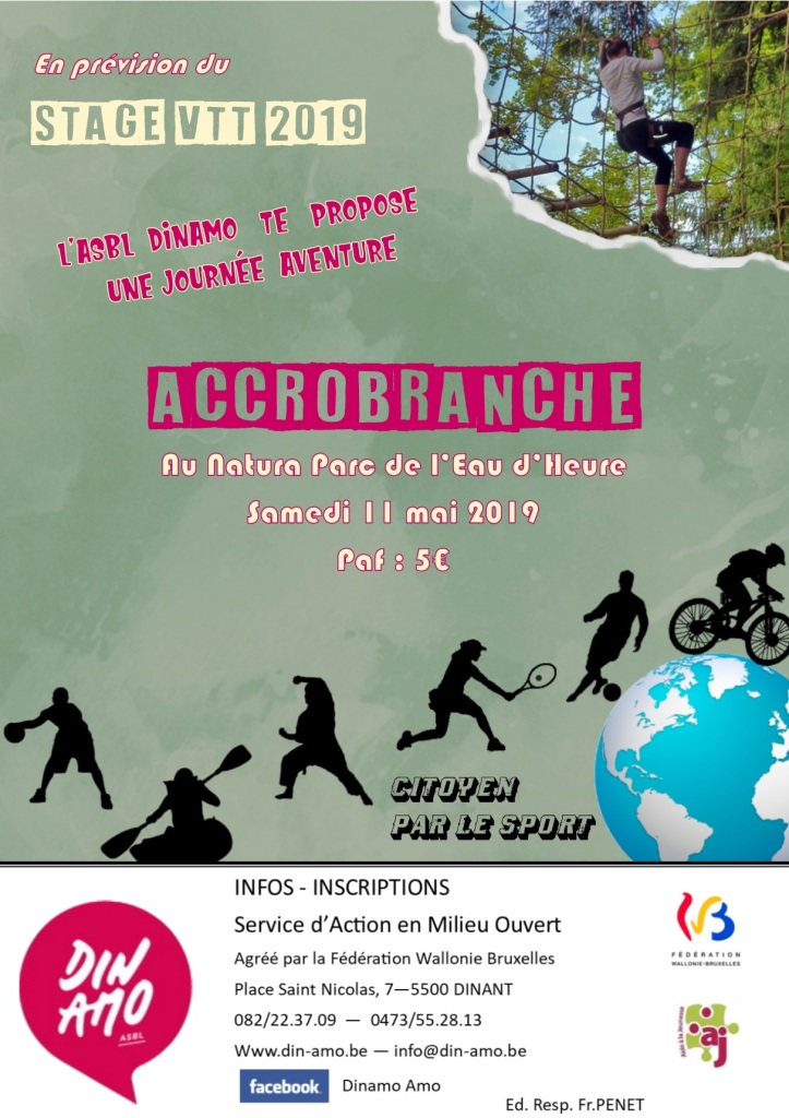 Affiche Accrobranche 11 05 2019
